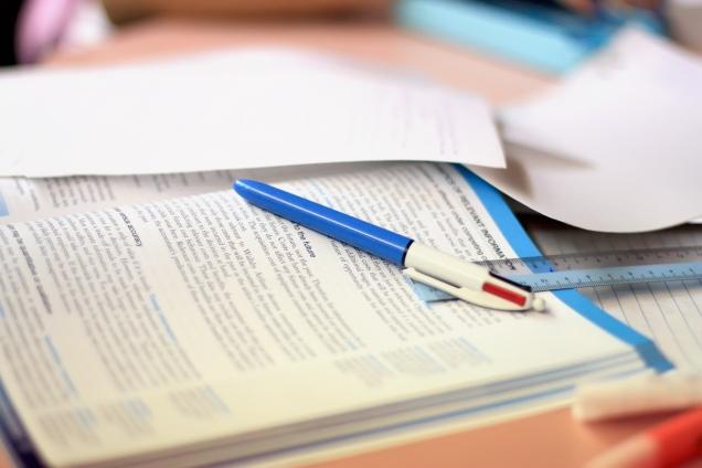 Reading studying